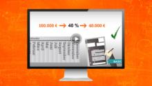 Investitionsabzugsbetrag und Sonderabschreibung – Steuergestaltungsmöglichkeiten nutzen und Steuern sparen! (Video)
